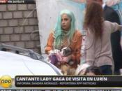 Lady Gaga Almorzó Cantó Niñas Albergue Lurín