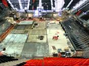 Time lapse: construcción estadio básquet