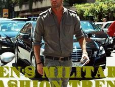 Men's Military Fashion Trend