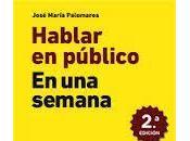 Entrevista José María Palomares (48), autor «Hablar público semana»