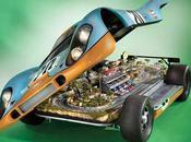 ¿Scalextric dentro Porsche?