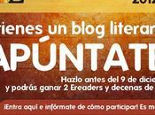 Premios Libros Literatura 2012. Y...