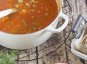 Sopa minestrone algo calentito para templar cuerpo)