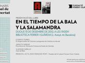 """Presentación Barcelona libro: tiempo bala salamandra"""""""