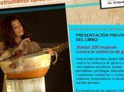 Concierto Sarah Carrère Presentación libro ¡Basta!
