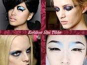 nueva tendencia maquillaje mirada color azul