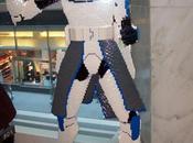 Esculturas Lego gigantes