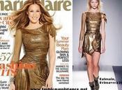 Sarah Jessica Parker, Balmain, portada Marie Claire junio 2010. covers june 2010