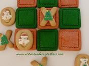 Tres Raya Navideño Galletas. Calendario Adviento'12