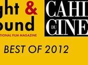 Mejores películas según Cahiers Cinéma Sight Sound
