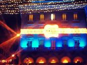 Escaparates navideños, tiendas lujo Roma decoradas para fiestas