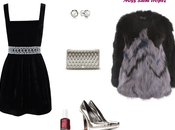 pongo. Como combinar vestido terciopelo negro