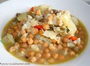 Cocido Garbanzos Cocina Casera Recetas Vegetarianas