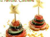 Aperitivos Navidad Originales forma Árbol