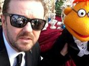 Ricky Gervais protagonizará secuela Muppets
