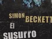 susurro muertos. Simon Beckett