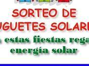 Sorteo juguetes solares