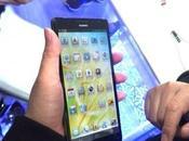 Huawei muestra pequeño smartphone pulgadas