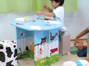 Dcartón Muebles juguetes cartón bonitos ecológicos