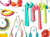Fotos moda accesorios color fluor