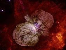 Carinae, estrella condenada