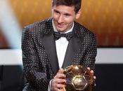 Lionel Messi, FIFA Balón 2012