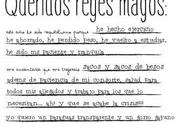 post light: carta reyes magos
