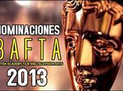Nominaciones Premios BAFTA 2013