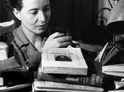 Simone Beauvoir, sobre hábitos escritura