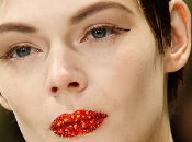 Labios cristal desfile Christian Dior Couture, Spring 2013