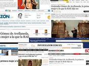 Entrevista sobre propuesta otorgar Gertrudis Gómez Avellaneda título Académica honoraria