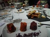 menú degustación tartars tonics jueves restaurante Acontraluz