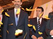 Príncipes Asturias visitan stand Proexport FITUR 2013