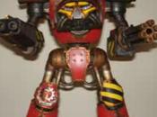 Cómo construir pintar Titán modelo Reaver. Tercera parte.
