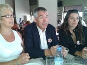Eduardo Salas Cintia Frencia visitaron Villa María