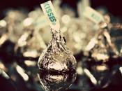 Para valentin besitos chocolate
