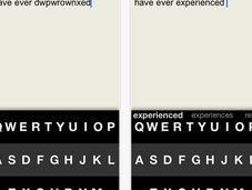Fleksy, teclado para próximamente Android, permite escribir mirar
