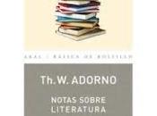ambigüedad novela contemporánea según Adorno