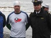 Capitanía puerto williams apoyó cruce nado canal beagle