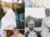 Novias chal crochet/Brides wearing crochet shawls