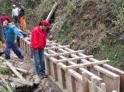Avanzan construccion canal regadio oyon…