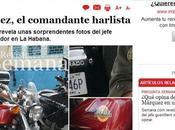 número FARC posó Harley Davidson