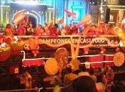 Cabalgata Carnaval Palmas 2013. Beber, bailar reir