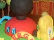 "Tarta casa Mickey Mouse"""