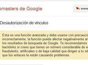 Disavow Nueva herramienta para webmasters Google