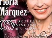 Floria Márquez ofrece concierto romántico junto