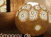 Tendencia Deco: lámparas ganchillo