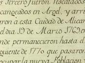 Fuentes documentales para conocimiento histórico Nueva Tabarca