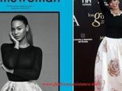 Beyonce Maribel Verdú mismo vestido Christian Dior, Spring 2013