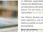 """Certamen microrrelatos """"Tres libros, elogio brevedad"""""""